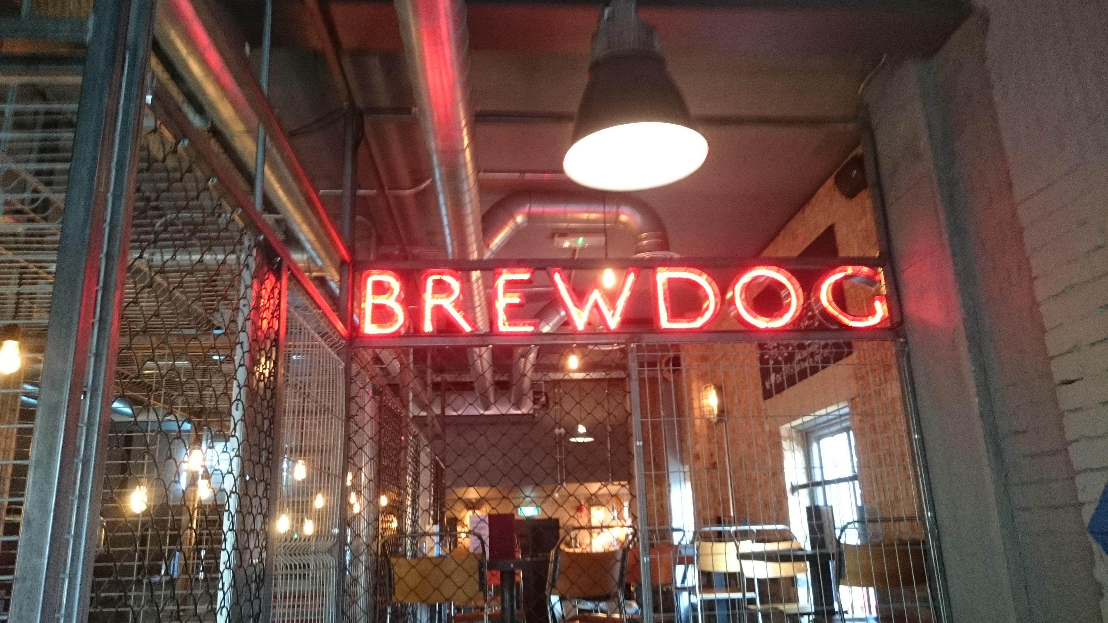 Craft beer legends BrewDog